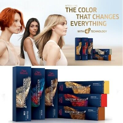WELLA KOLESTON PERFECT ME+ PURE/RICH NATURAL, BROWNS, REDS, SPECIAL BLONDES 60ML
