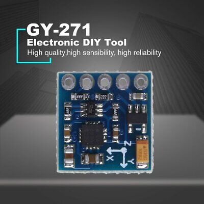 Gy-271 Hmc5883l Three-axis Digital Compass Magnetic Field Module Magnetometer Nd