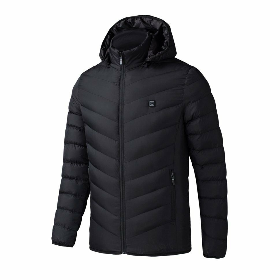 Electric Heated Man Jacket Vest Woman Coat Feather Thermal S