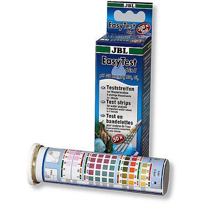 JBL EasyTest 6in1 50 Easy Test Strips Water Test Kit pH GH KH Nitrite Nitrate