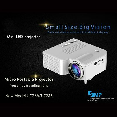 UC28B+ Home LED Projector Mini Portable 1080P HD Projection For Home Theater RX