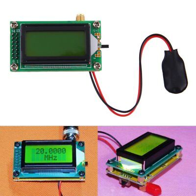 High Accuracy 1500 Mhz Frequency Counter Tester Measurement Meter New Nd