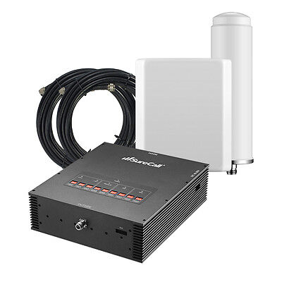 SureCall Force5 Signal Booster Kit for Buildings  with 1 Omni & 1 Panel Antenna