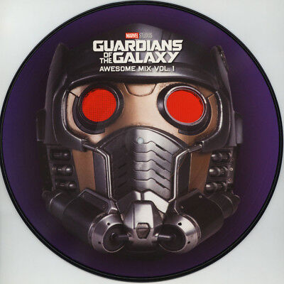 Guardians Of The Galaxy Awesome Mix Movie Soundtrack New Vinyl Picture Disc Lp
