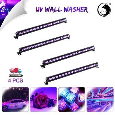 4PCS U`King 54W 18LED UV Bar Stage Light Wash Light DJ Xmas Halloween Blacklight](Dj King Halloween)