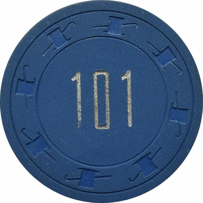 101 Club Casino N. Las Vegas $1 Chip 1961