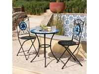 Mosaic Bistro Set BRAND NEW - Garden Table and Chairs