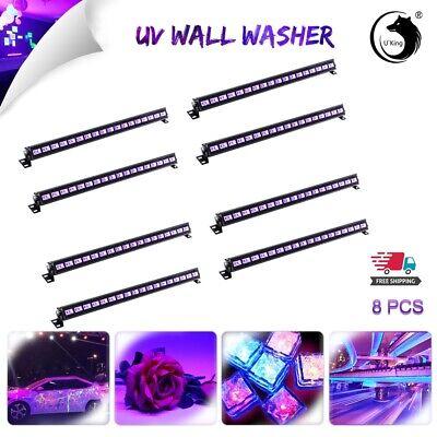 8PCS U`King 54W 18LED UV Bar Stage Light Wash Light DJ Xmas Halloween Blacklight](Dj King Halloween)