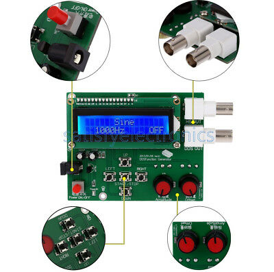 New Dds Function Signal Generator Module Sine Square Sawtooth Triangle Wave Kit