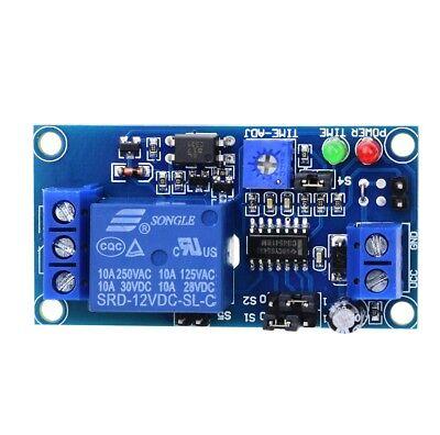 New Dc 12v Delay Relay Delay Turn Ondelay Turn Off Timer Switch Module