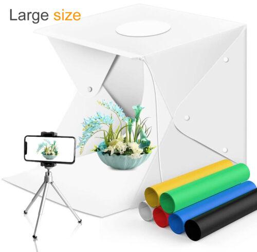 Double LED Photo Photography Light Box Large Lighting Tent R