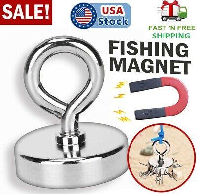 Super Strong Fishing Magnet 1.65 W Lifting Hook Magnetic Retrieving Treasure