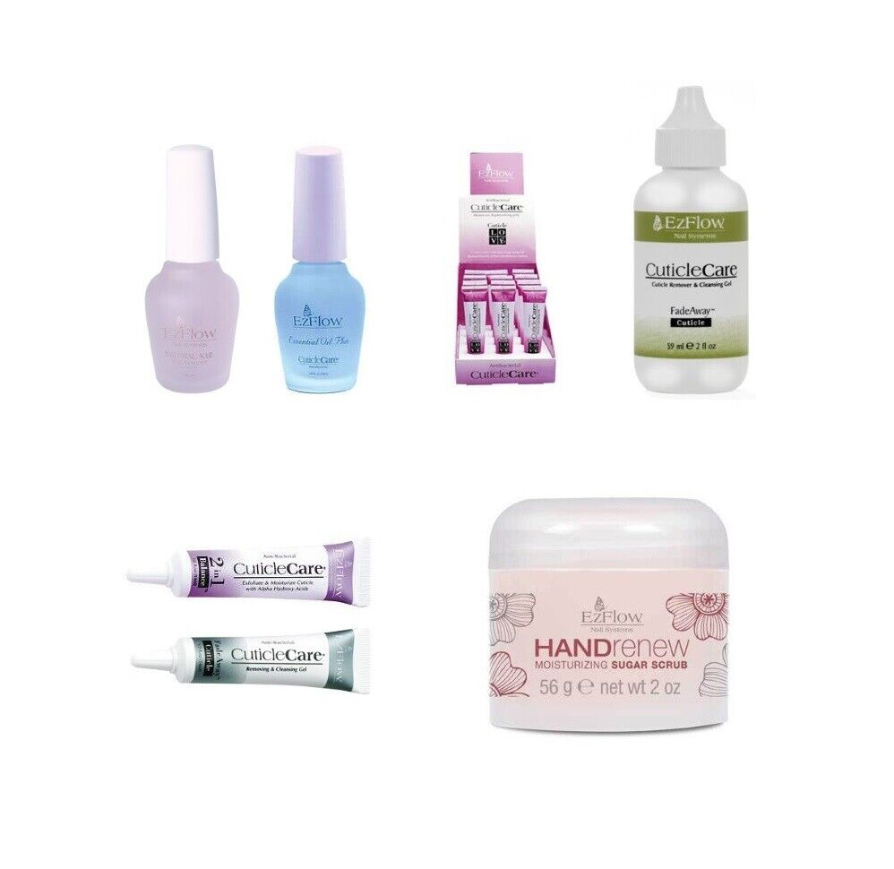 EzFlow - Natural Nail Care Products - All Varieties - CHOOSE ANY