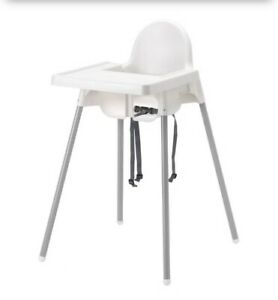 ANTILOP High chair with tray, baby highchair,