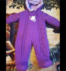 New with tags size 6-12 months snowsuit
