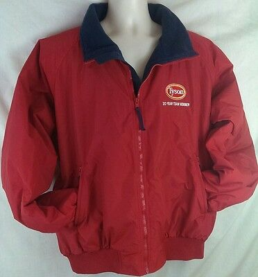 Tyson Foods 20 Year  Jacket Coat Mens Size Xl Uniform