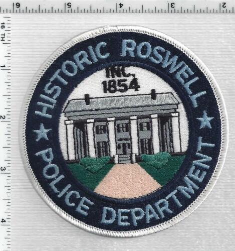 Roswelll Police (Georgia) 7th Issue Shoulder Patch
