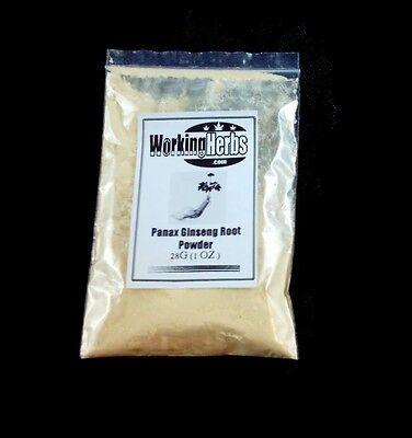 - Korean Red Panax Ginseng pure powder 1oz bag