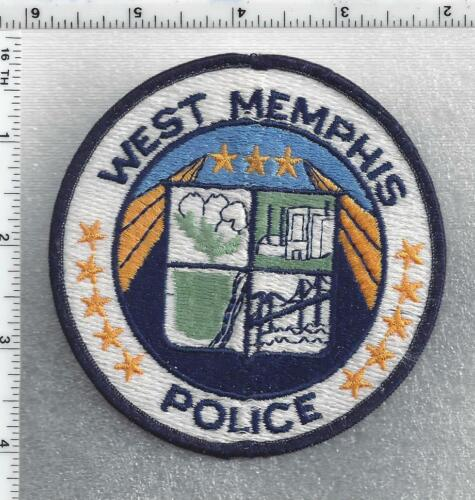 West memphis Police (Arkansas) 3rd Issue Uniform Take-Off Shoulder Patch