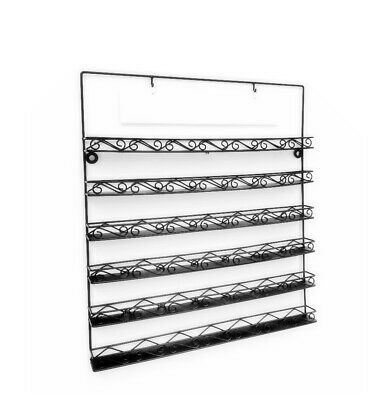 6-tier Wire Display Rack For Wall Mount Usenail Polish Sign Included119353