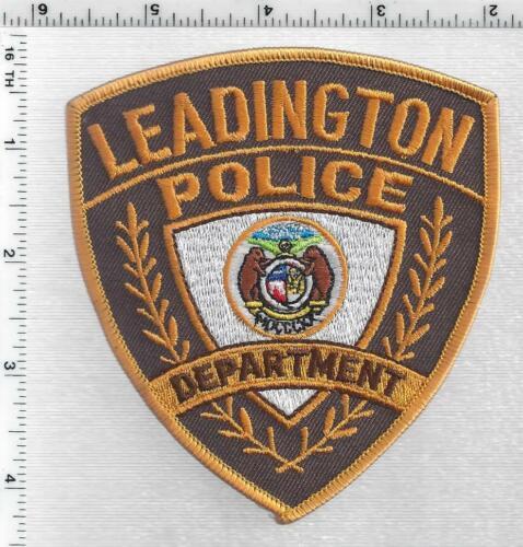 Leadington Police (Missouri) 2nd Issue Shoulder Patch