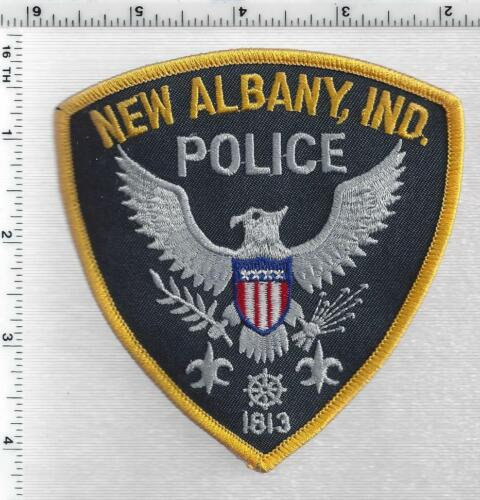 New Castle Police (Indiana) 3rd Issue Shoulder Patch