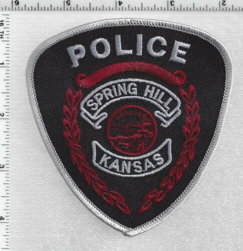 Spring Hill Police (Kansas) 2nd Issue Shoulder Patch