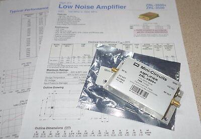 Mini-circuits Amplifier Zrl-3500 705 1032 700-3500mhz  Free Ship Rb2.4