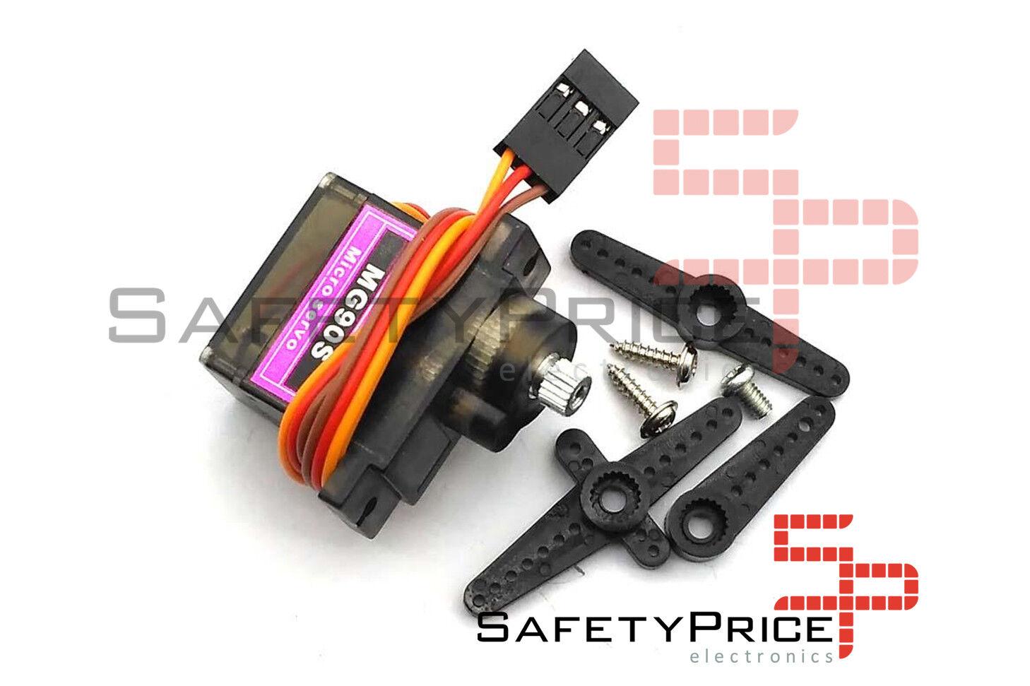 Mikro Servo Zahnräder Farbe Kompatibel mit MG90S Towerpro Arduino Roboter