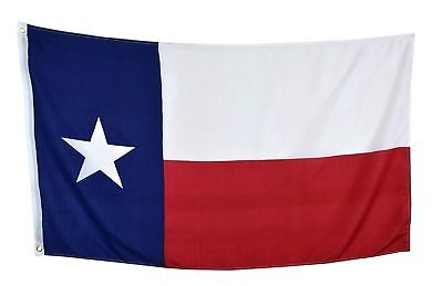 New 3'x5' Polyester TEXAS STATE FLAG Lone Star TX USA Grommets Red White -