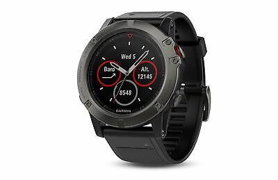 Garmin Fenix 5S Sapphire Edition 42mm Heart Rate & GPS Watch - Black