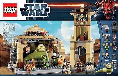 LEGO Star Wars Jabba's Palace 9516 Return Of The Jedi New In Box Sold Out