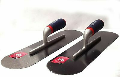 Stainless Steel Trowel 18 X 5 Cement Finishing Masonry Hand Trowels 2 Pack