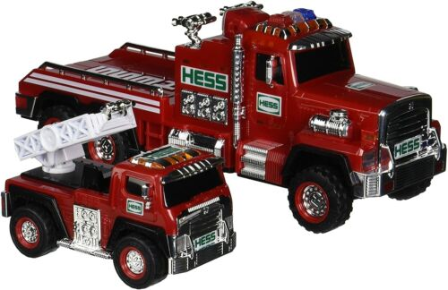 NEW Hess 2015 Fire Truck and Ladder Rescue Vehicle New in Box