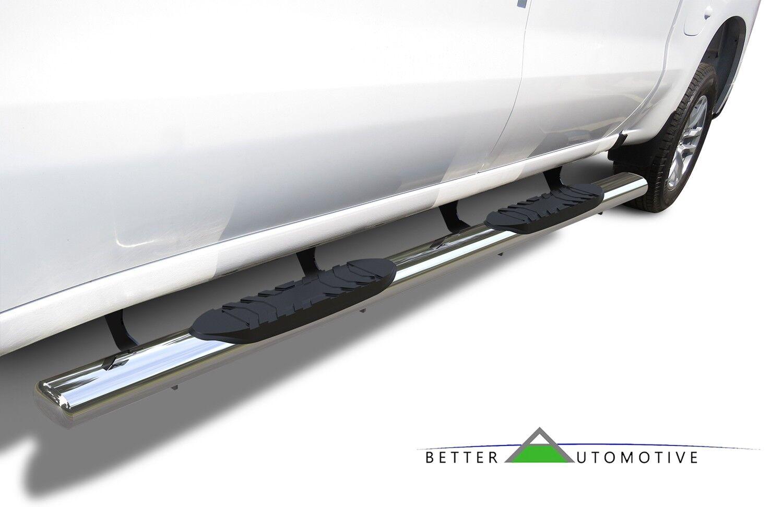 """5"""" Chrome Side Step Rails for 2019-2020 Silverado/Sierra ..."""