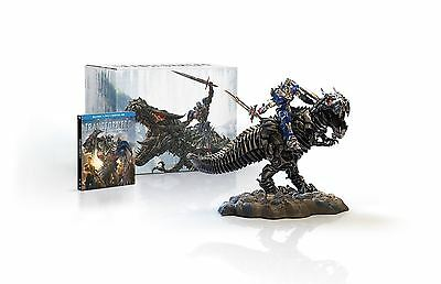 Transformers: Age of Extinction Blu Ray Limited Edition Gift Set with Grimlock