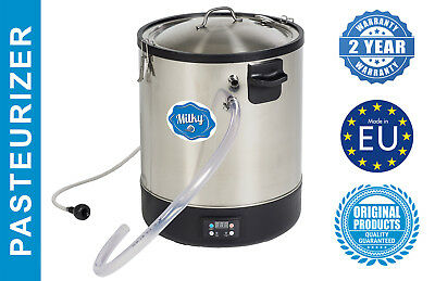 Milk Midi Pasteurizer Cheese Yogurt Kettle Stainless Steel Milky Fj 30 230v