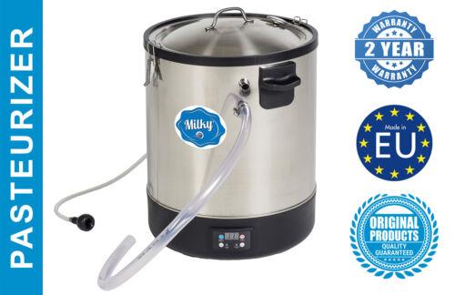 Milk Midi Pasteurizer Cheese & Yogurt Kettle Stainless Steel Milky FJ 30 (230V)
