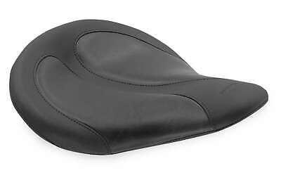 Mustang 76617 Harley-Davidson Cyclone Solo Seat w/Black Distressed Insert Black Distressed Seat