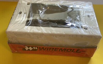 Nos V5745-wiremold-switch And Receptacle Box-free Shipping