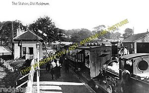 Old Meldrum Railway Station Photo. Lethenty and Inverurie Line. GNSR