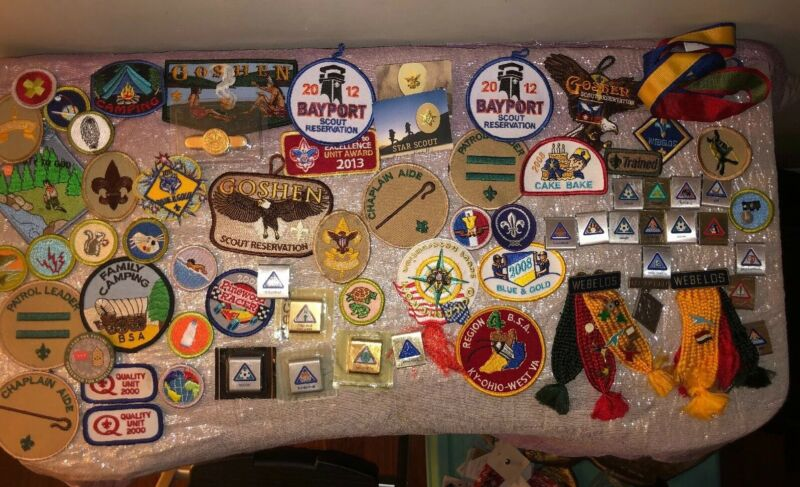 Boy Scout Patches And More! Lot Of 70 pieces