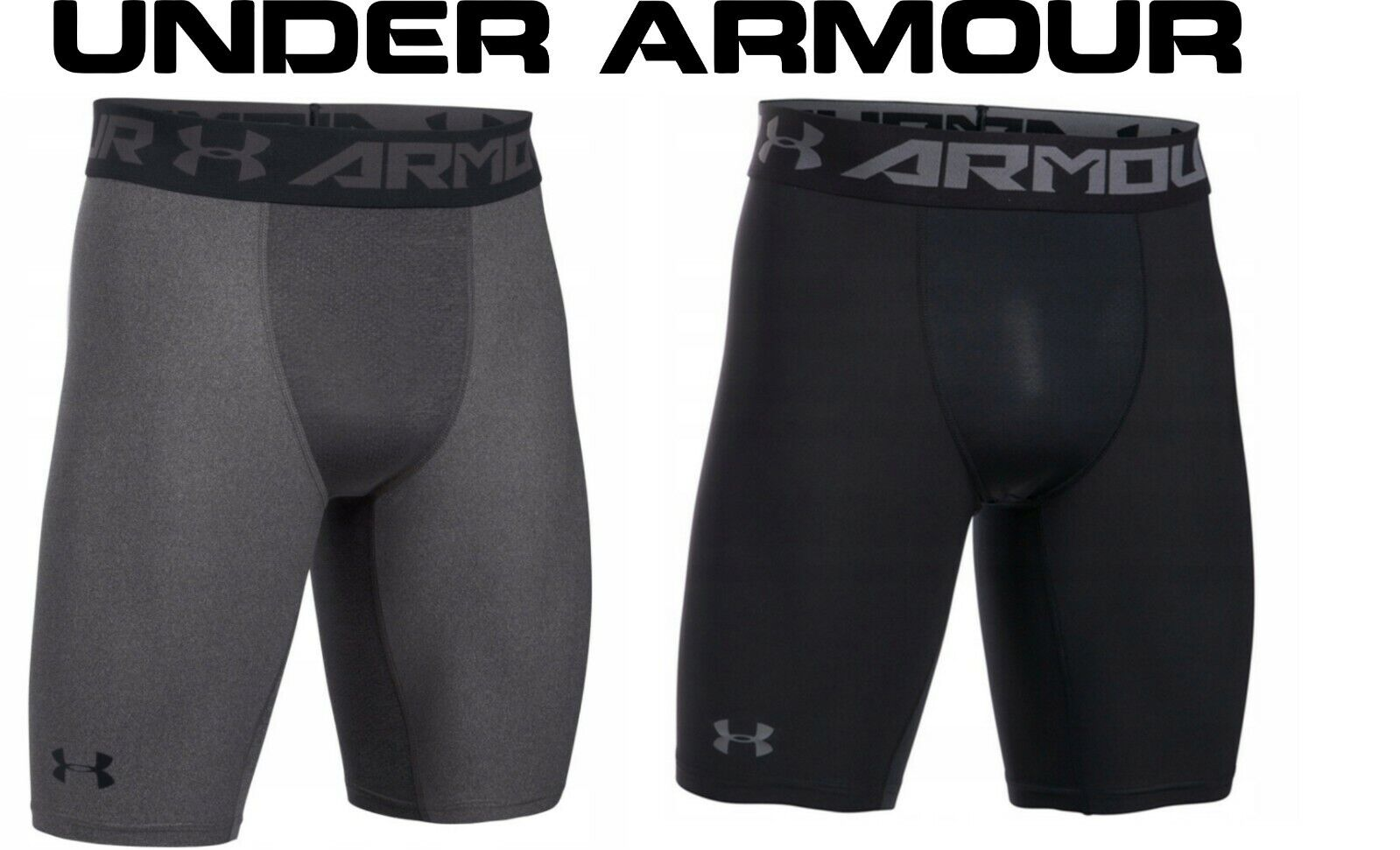 Under Armour Mens HeatGear Armour 2.0 Compression Shorts UA Base Layer