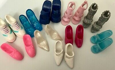 Doll Barbie and others shoes sneaker - dance - casual - dress up - lot