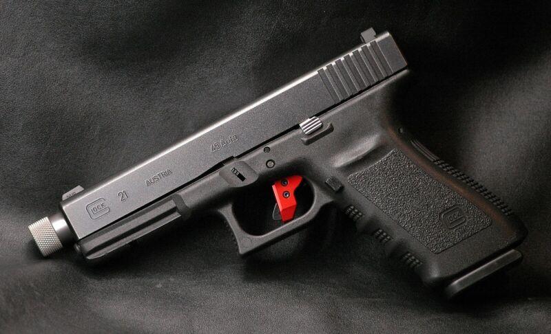 STRYKOUT Gen 3-4 Trigger Shoe Zombie Green fits Glock 20 21 29 30 40 41 42 43 48