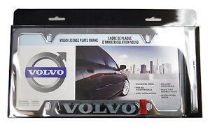 Volvo-OEM-Chrome-License-Plate-Frame-XC60-XC70-XC90-V50-V70-S40-S60-S80-8640121