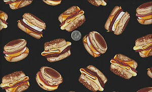 Breakfast-Club-McMuffin-Sandwich-I-Spy-Food-Fabric-By-the-Fat-Quarter-Benartex