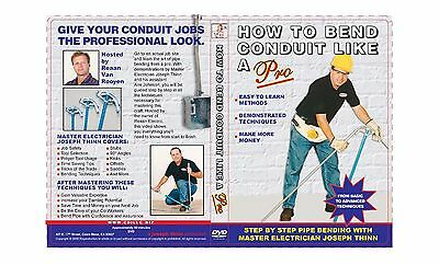 CONDUIT BENDING DVD: HOW TO BEND CONDUIT LIKE A PRO~! UNIQUE DVD HERE @ GREAT$!