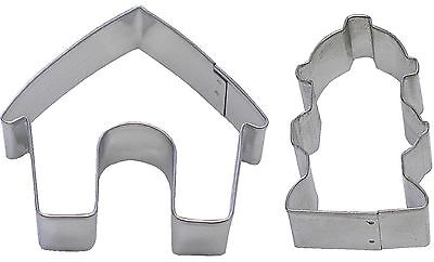2 Piece Dog House & Fire Hydrant Cookie Cutter Set NEW! Treats! Dog House Cookie Cutter