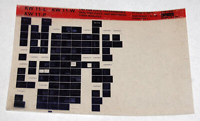 Dec Kw11 L W P Programmable Real Time Clock   Watchdog Timer Manuals Microfiche